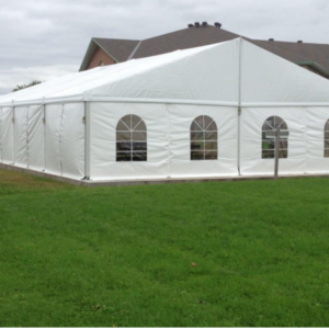 frame tent side view